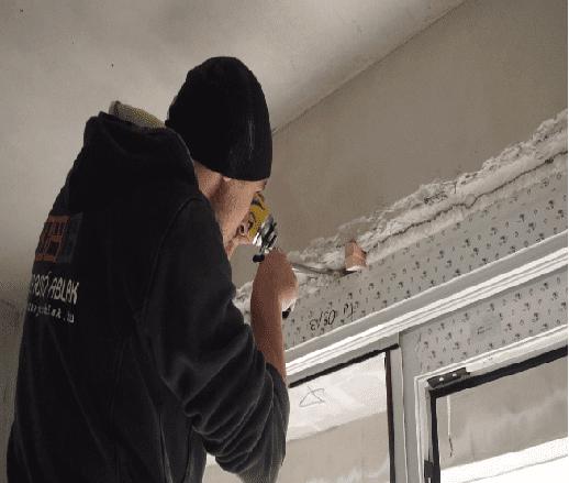 műanyag ablak beszerelése